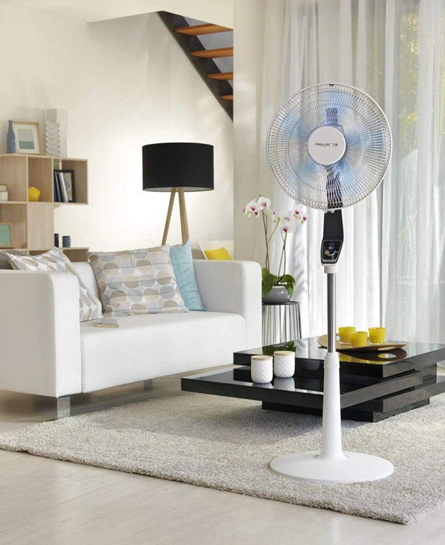 El mejor ventilador de pie, Rowenta Turbo Silence Extreme