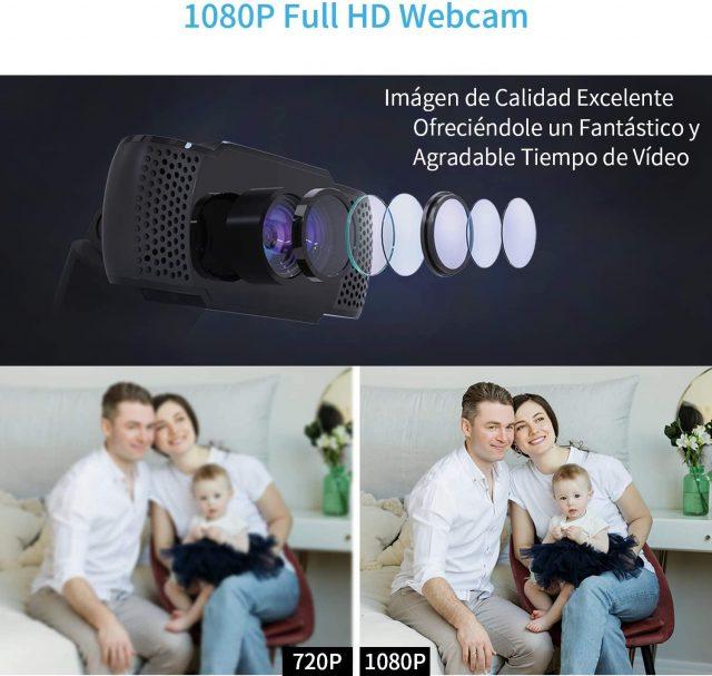 la mejor webcam para teletrabajo