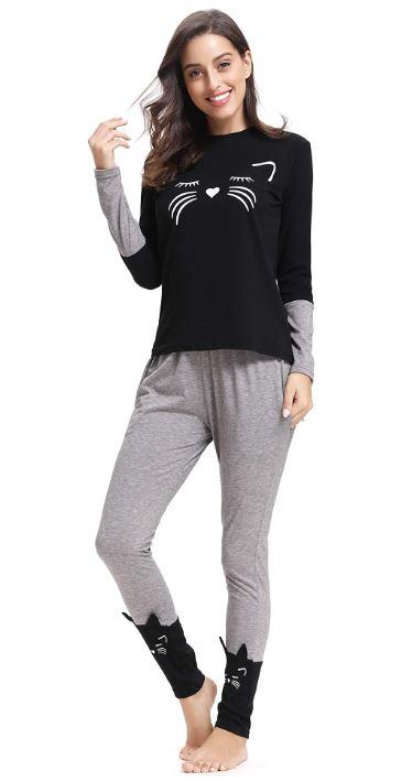 pijamas de mujer 100% algodón