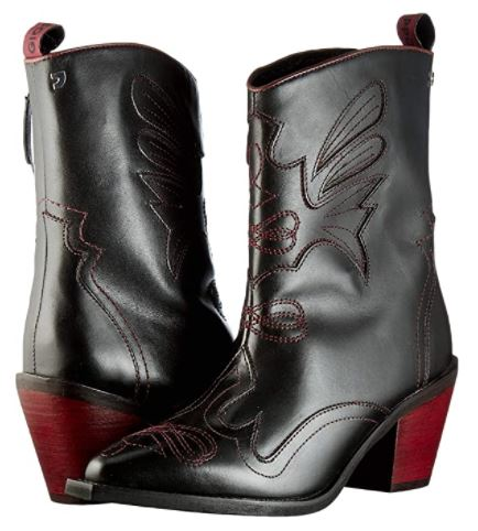 botas mujer gioseppo modelo cowboy