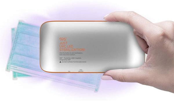 esterilizador UV portátil