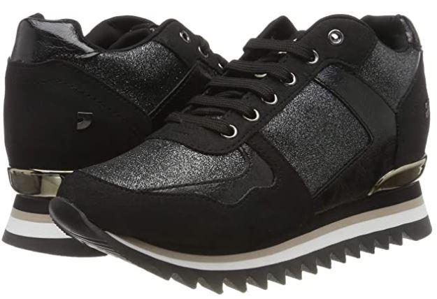 zapatillas negras gioseppo