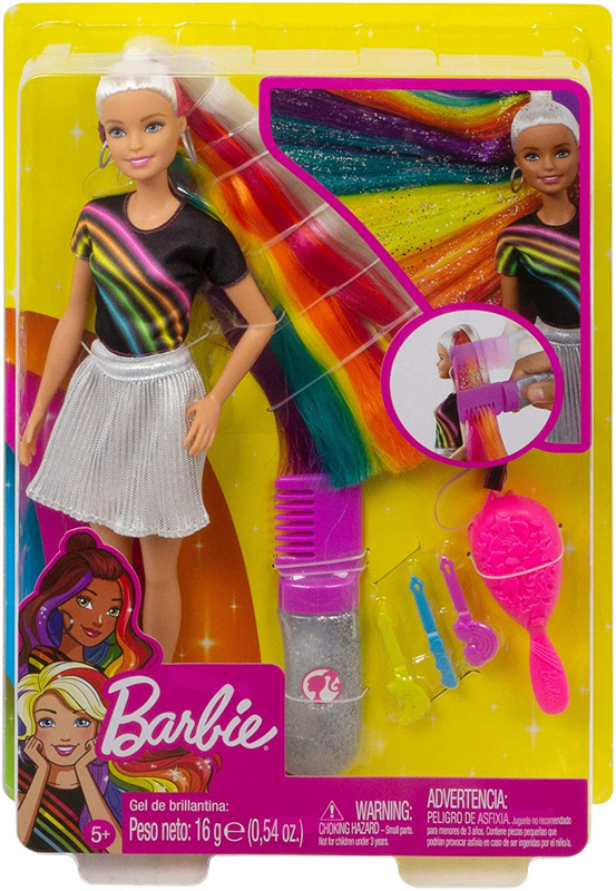 Barbie destellos arcoiris
