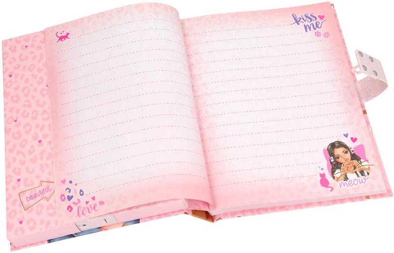 diario secreto top model con contraseña para niñas