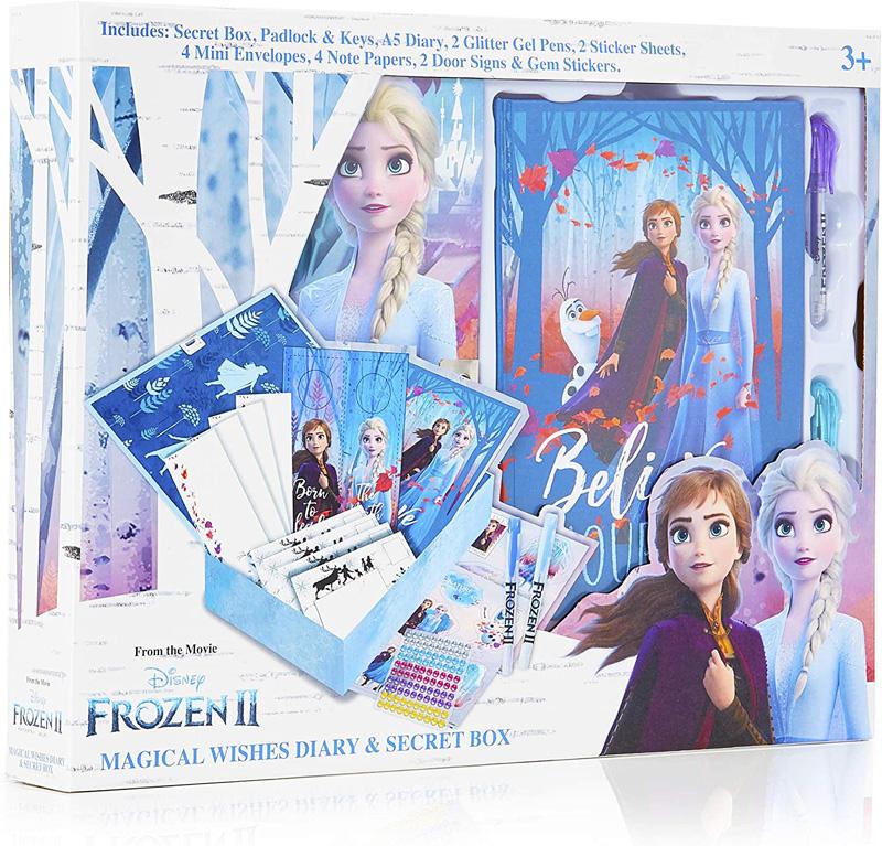 Diario Secreto Frozen 2 Disney