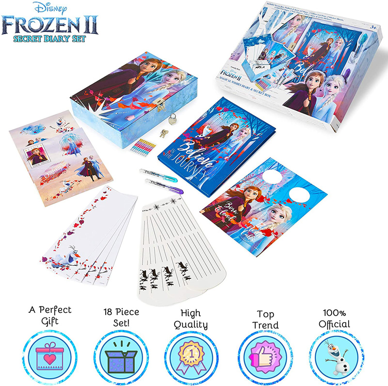diario secreto con candado Frozen 2