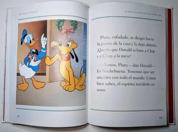 Cuentos de Navidad libro Disney
