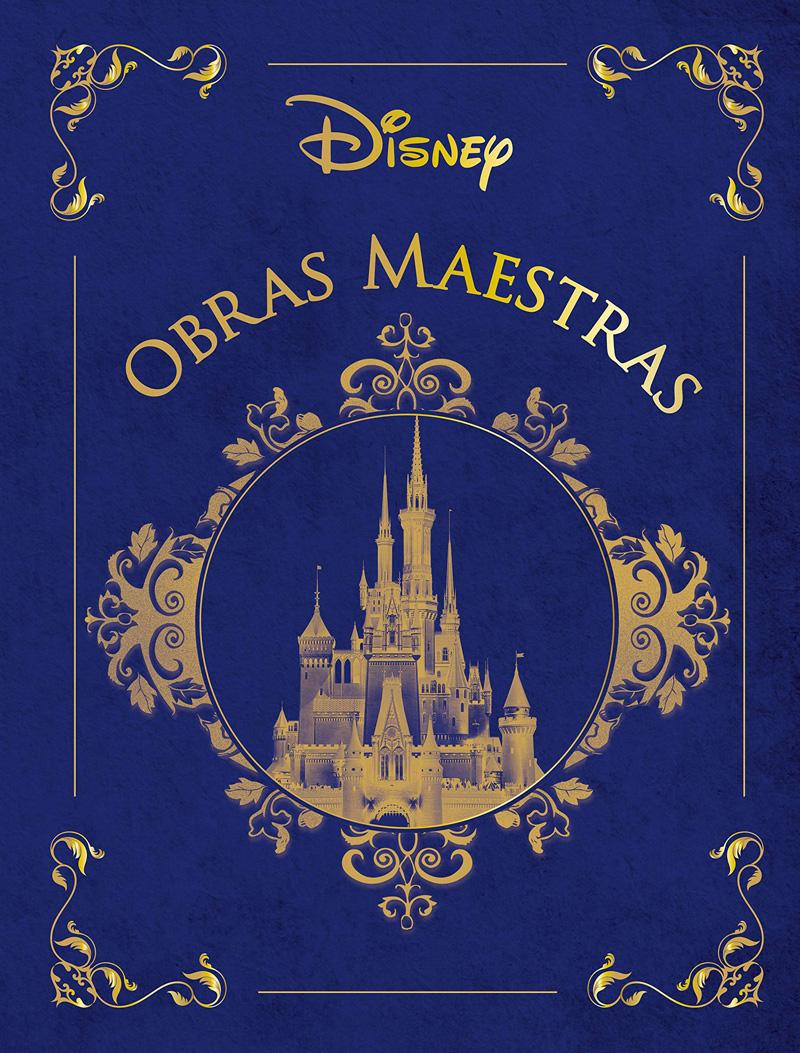 Libro obras maestras Disney