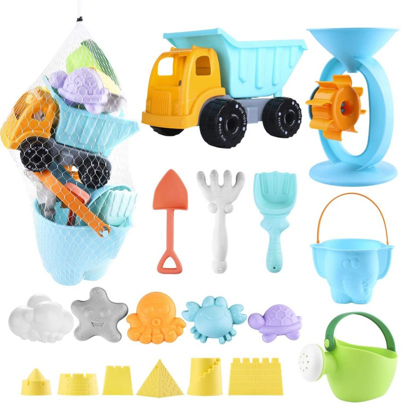 20 piezas conjunto juguetes playa
