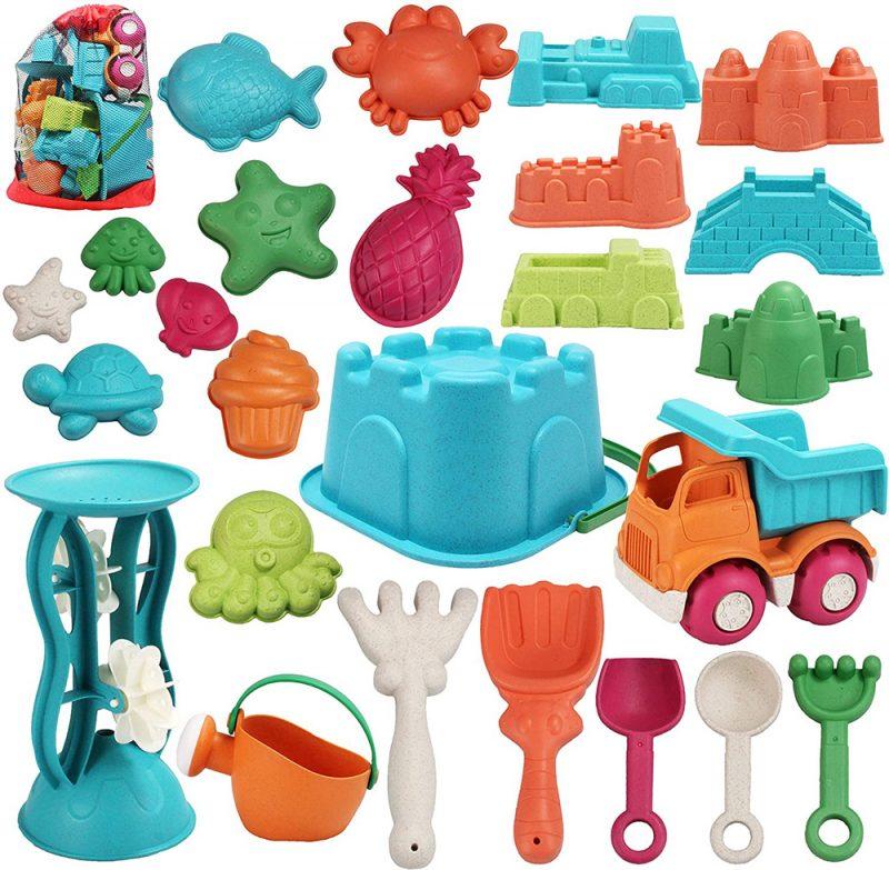 25 juguetes para arena playa
