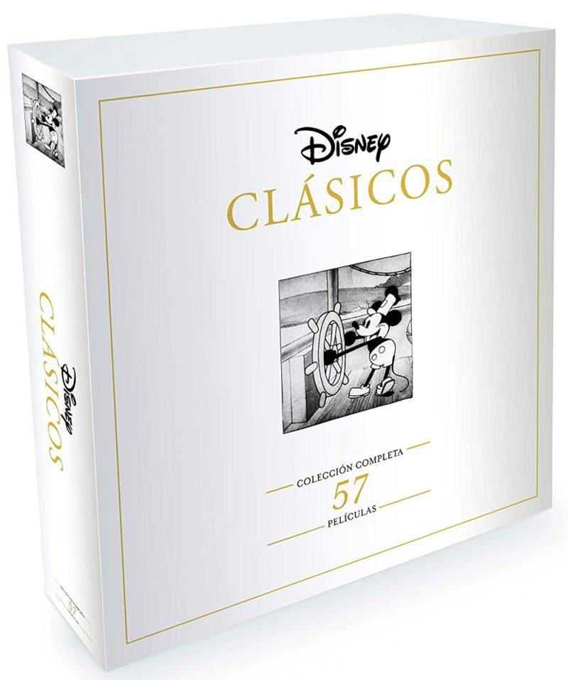 57 películas Disney clásicos edición coleccionista
