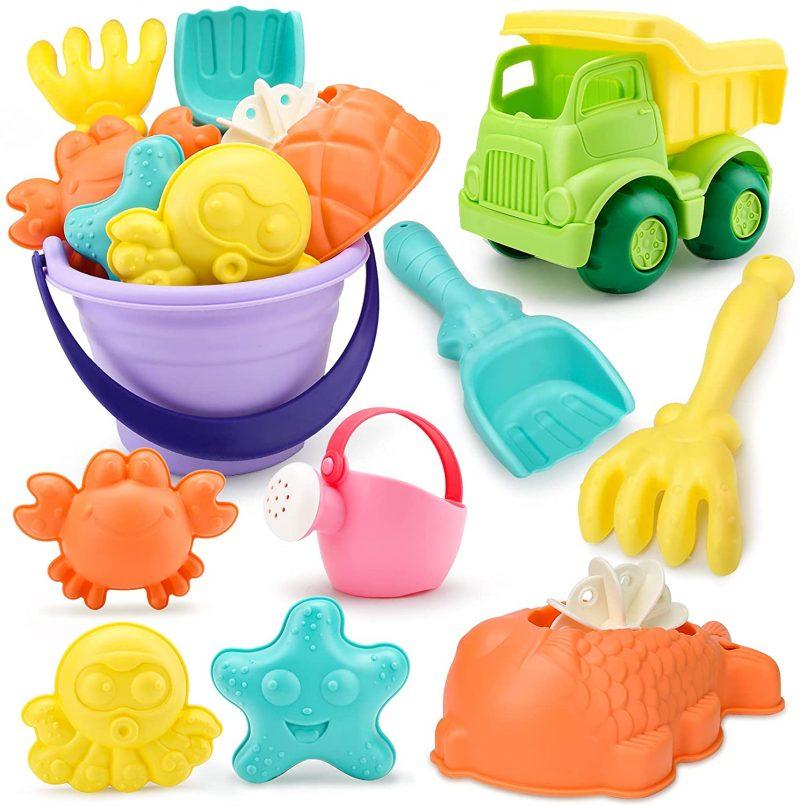 9 piezas juguetes playa