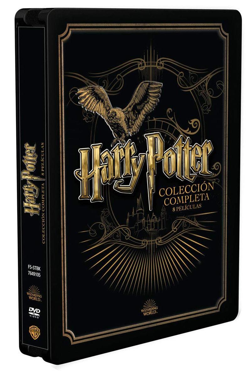 harry potter colección completa 8 peliculas