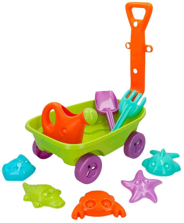 juguetes playa con carretilla