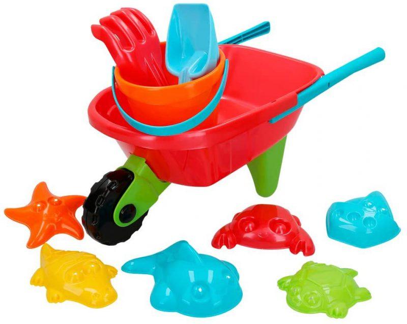 juguete set playa con carretilla