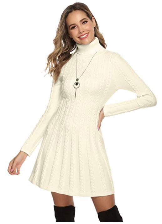 vestidos invierno para mujer en oferta