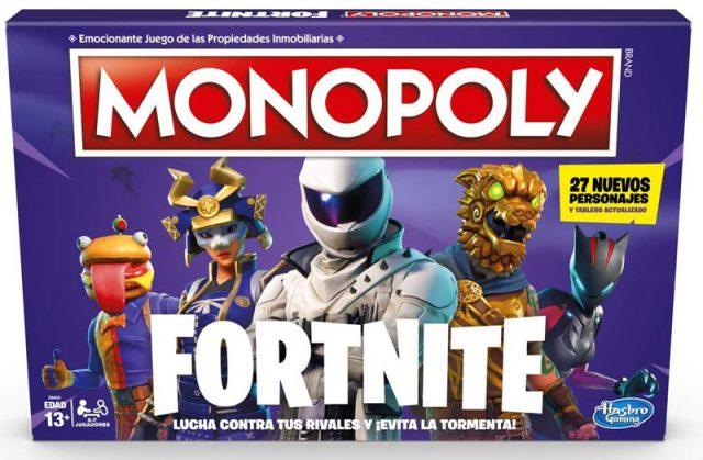 monopoly fortnite hasbro