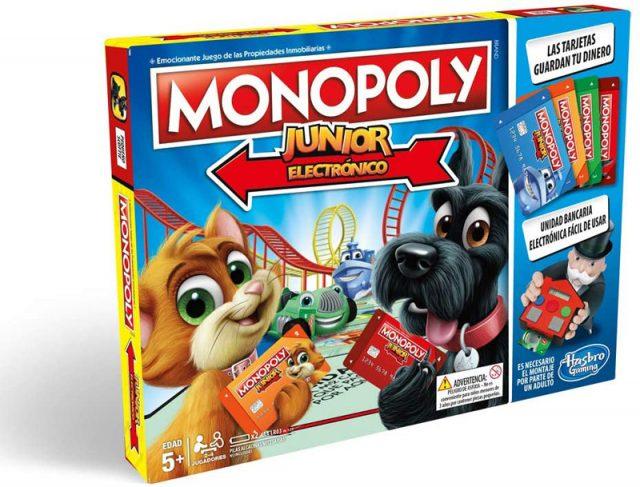 monopoly junior electronico hasbro