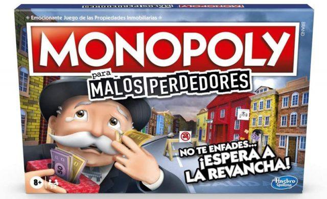 monopoly malos perdedores hasbro