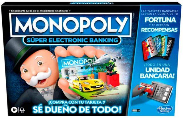 monopoly super electronic banking hasbro