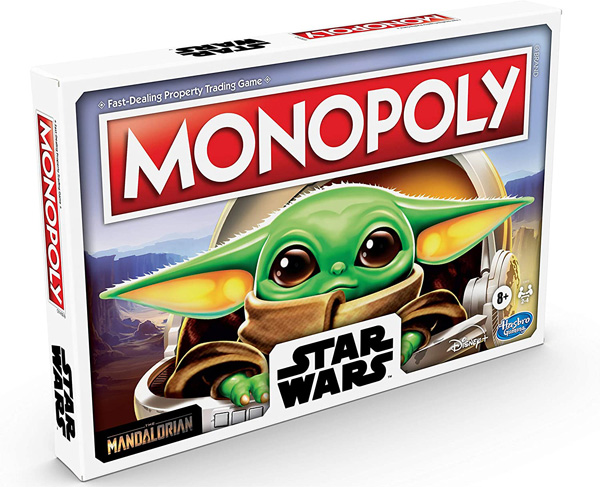 monopoly the child star wars hasbro