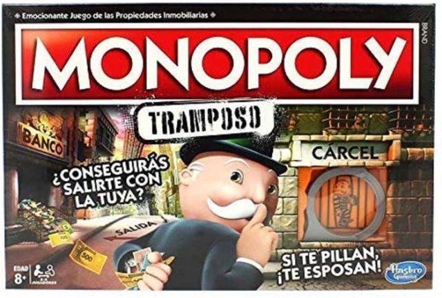 juego monopoly tramposo hasbro