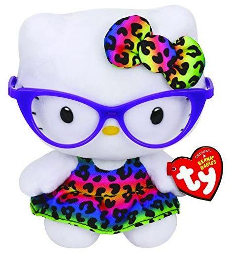 peluche hello kitty con gafas