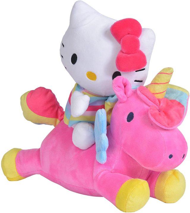 peluche hello kitty con unicornio