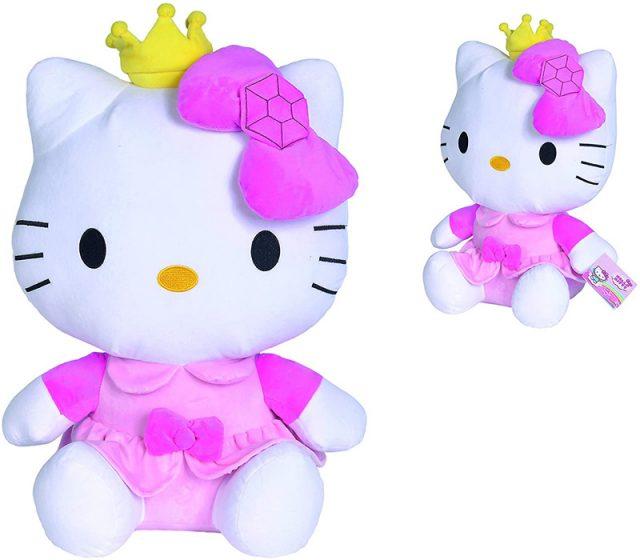 hello kitty de princesa peluche original