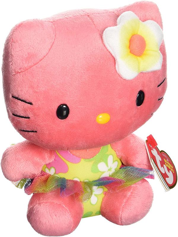 peluche hello kitty rosa oscuro