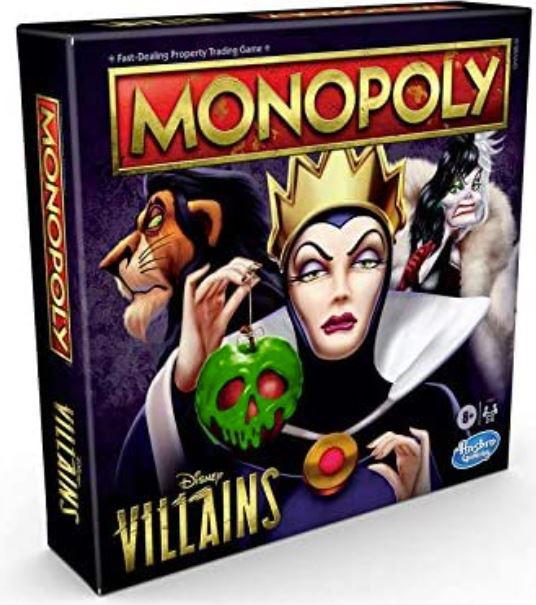 monopoly villains disney hasbro