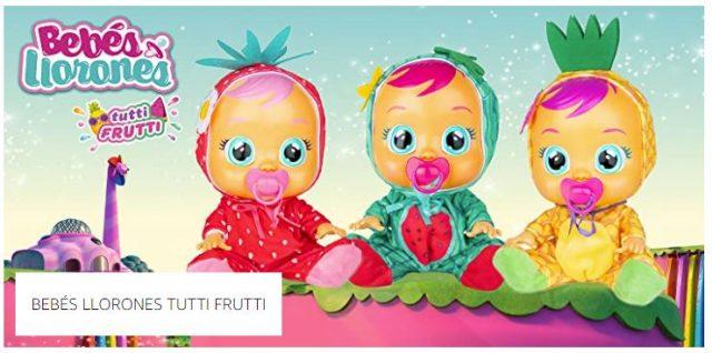 bebes llorones tutti frutti